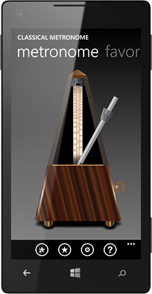 Classical Metronome screenshot1