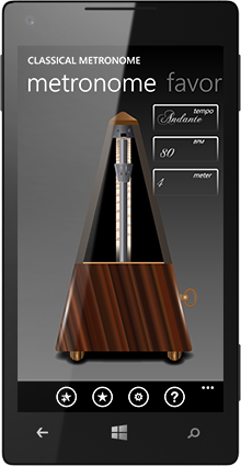 Classical Metronome screenshot2
