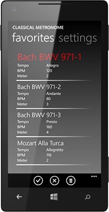 Classical Metronome screenshot3