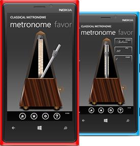 Classical Metronome app screenshot